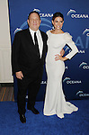 BEVERLY HILLS, CA- OCTOBER 30: Producer Harvey Weinstein (L) and TV personality Maria Menounos arrive at the Oceana Partners Award Gala With Former Secretary Of State Hillary Rodham Clinton and HBO CEO Richard Plepler at Regent Beverly Wilshire Hotel on October 30, 2013 in Beverly Hills, California.