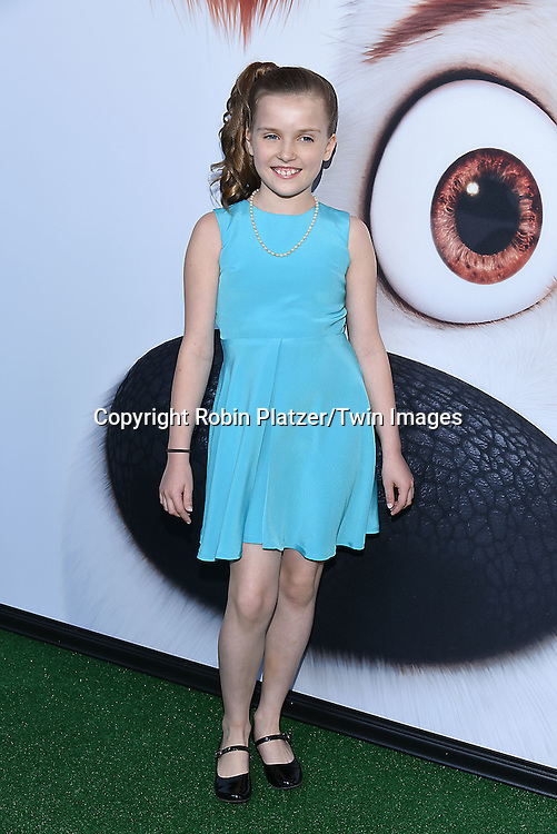 Kiely Renaud  attends the New York Premiere of &quot;The Secret Life of Pets&quot; on June 25, 2016 at David H Koch Theater at Lincoln Center in New York, New York, USA. <br /> <br /> photo by Robin Platzer/Twin Images<br />  <br /> phone number 212-935-0770