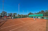 Etten-Leur, The Netherlands, August 23, 2016,  TC Etten, NVK, court with boarding and men's doubles,<br /> Photo: Tennisimages/Henk Koster