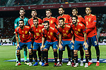 Spain squad line up during their UEFA Nations League 2018-19 match between Spain and Croatia at Manuel Martínez Valero on September 11 2018 in Elche, Spain. Photo by Diego Souto / Power Sport Images