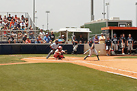 SAN ANTONIO, TX - APRIL 23, 2011: The Nicholls State University Colonels vs. the University of Texas at San Antonio Roadrunners Softball at Roadrunner Field. (Photo by Jeff Huehn)