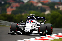 18th July 2020, Hungaroring, Budapest, Hungary; F1 Grand Prix of Hungary,  qualifying sessions;  10 Pierre Gasly FRA, Scuderia AlphaTauri Honda