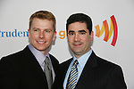Robert xx & Jonathan Tolins at the 21st Annual GLAAD Media Awards on March 13, 2010 at the New York Marriott Marquis, New York City, NY. (Photo by Sue Coflin/Max Photos)