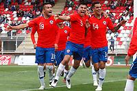 Futbol 2018 Chile vs Uruguay Amistoso Sub 20