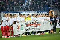 Aktion des DFB gegen Diskriminierung- FSV Frankfurt vs. 1. FC Kaiserslautern, Frankfurter Volksbank Stadion