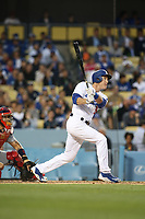 05/25/17 Los Angeles, CA:Los Angeles Dodgers second baseman Chase Utley #26 during an MLB game between the Los Angeles Dodgers and the St Louis Cardinals played at Dodger Stadium.