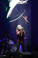 SAO PAULO, SP, 28.03.2015 - LOLLAPALOOZA 2015 - AUTODROMO INTERLAGOS, SP - Ex-Led Zeppelin , Robert Plant se  apresenta no palco Skol do Lollapalooza 2015, no Autodromo de Interlagos, neste Sabado, 28. (Douglas Pingituro / Brazil Photo Press)