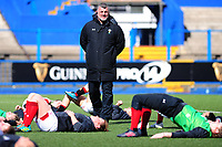 Head Coach Rowland Phillips of Wales during the Women's Six Nations match between Wales and Ireland at Cardiff Arms Park, Cardiff, Wales, UK. Sunday 17 March 2019