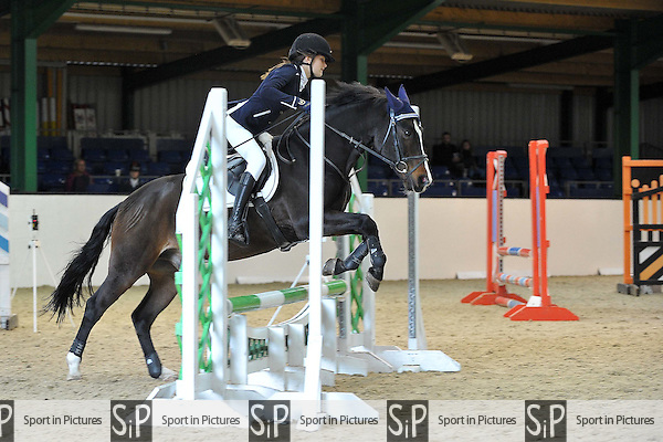 Class 5. Unaffiliated Showjumping. Brook Farm Training Centre. Essex. 16/10/2016. MANDATORY Credit Garry Bowden/Sportinpictures - NO UNAUTHORISED USE - 07837 394578