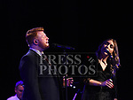 Seán Tester performing in The Barbican Drogheda with special guest Claire Regan. Photo:Colin Bell/pressphotos.ie