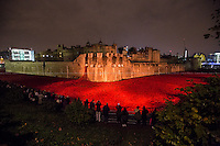 London 08/11/2014. &quot;Tower of London Remembers the First World War&quot; (1914 &ndash; 2014). ...<br />