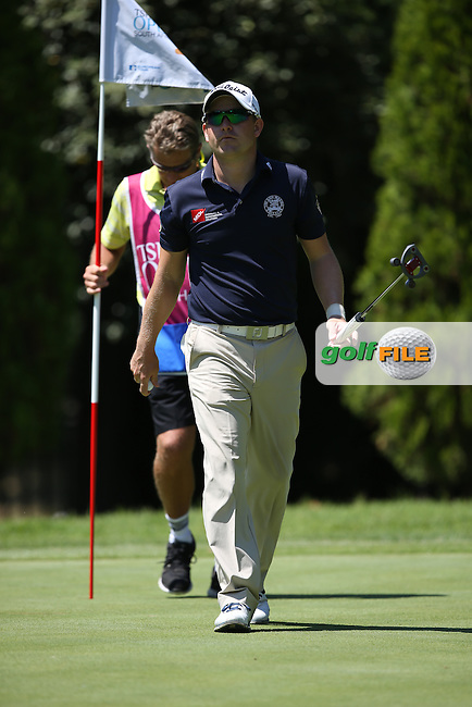 Birdie on the 12th for Paul Maddy (ENG) during Round Two of the Tshwane Open 2015 at the Pretoria Country Club, Waterkloof, Pretoria, South Africa. Picture:  David Lloyd / www.golffile.ie. 13/03/2015