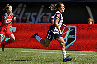 Portland, OR - Saturday September 02, 2017: Caprice Dydasco during a regular season National Women's Soccer League (NWSL) match between the Portland Thorns FC and the Washington Spirit at Providence Park.