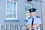 Listowel Garda Station is a protected historical building and in conjunction with the OPW a restoration project of the windows at Listowel Garda Station has been taking place over the past five weeks. Pictured Sgt Dean Kelly