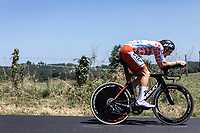 Polka Dots Jersey Tim Wellens (BEL/Lotto Soudal) <br /> <br /> Stage 13: ITT - Pau to Pau (27.2km)<br /> 106th Tour de France 2019 (2.UWT)<br /> <br /> ©kramon