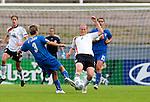 Melanie Behringer, Roberta D'Adda, QF, Germany-Italy, Women's EURO 2009 in Finland, 09042009, Lahti Stadium.