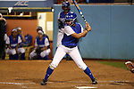 CHAPEL HILL, NC - FEBRUARY 24: Hampton's Cassidy Blackwell. The Hampton University Pirates played the Towson University Tigers on February, 24, 2017, at Anderson Softball Stadium in Chapel Hill, NC in a Division I College Softball match. Towson won 17-2 in a five inning run-rule game.