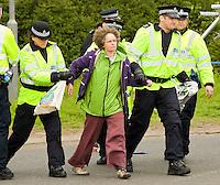 GRANGEMOUTH DOCKS PROTESTS