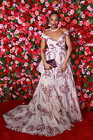 NEW YORK, NY - JUNE 10:  Hailey Kilgore  at the 72nd Annual Tony Awards at Radio City Music Hall in New York City on June 10, 2018.