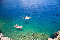 Sea Kayaking at Kastellorizo, Greece