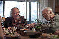 BOUNDARIES (2018)<br /> CHRITOPHER LLOYD, CHRISTOPHER PLUMMER<br /> *Filmstill - Editorial Use Only*<br /> CAP/FB<br /> Image supplied by Capital Pictures