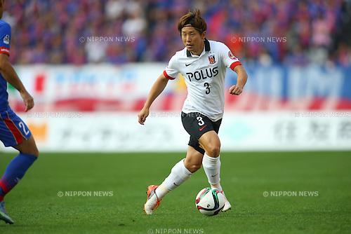 Tomoya Ugajin (Reds), OCTOBER 24, 2015 - Football / Soccer : 2015 J1 League 2nd stage match between F.C.Tokyo 3-4 Urawa Red Diamonds at Ajinomoto Stadium in Tokyo, Japan. (Photo by AFLO)