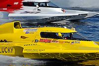 "Jerry Hopp, GP-15 ""Happy Go Lucky"" and Ken Brodie II, GP-50 ""Intensity"" (Grand Prix Hydroplane(s)"