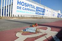 10/05/2020 - HOSPITAL DE CAMPANHA EM JACAREPAGUA