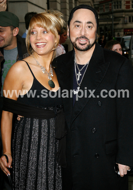 ALL ROUND PICTURES FROM SOLARPIX.COM.**WORLDWIDE RIGHTS*.Malandra Burrows and David Gest arrive for the press launch of ITVs new show Grease is the Word at the Bloomsbury Ballroom in west London on 28.03.07...REF:  3613     PRS        DATE:  28.03.07.**MUST CREDIT SOLARPIX.COM OR DOUBLE FEE WILL BE CHARGED* *UNDER NO CIRCUMSTANCES IS THIS IMAGE TO BE REPRODUCED FOR ANY ONLINE EDITION WITHOUT PRIOR PERMISSION*