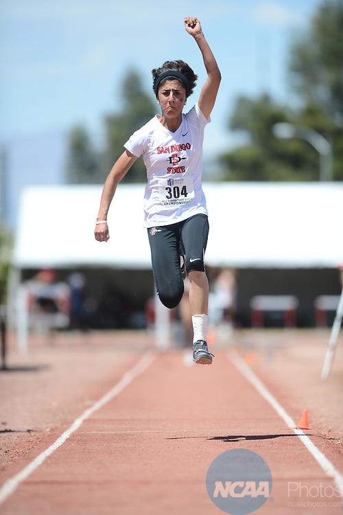 11 May 2013: Mountain West Conference Track and Field Championships at University of Nevada Las Vegas in Las Vegas, NV. Peter Lockley/NCAA Photos