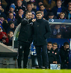 05.12.2018 Rangers v Aberdeen: Michael Beale and Steven Gerrard