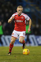 Kyle Dempsey of Fleetwood Town during the Sky Bet League 1 match between Gillingham and Fleetwood Town at the MEMS Priestfield Stadium, Gillingham, England on 27 January 2018. Photo by David Horn.