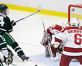 Evan Stephens (Dartmouth - 24) tied the game at 1 early in the second period. - The Harvard University Crimson defeated the Dartmouth College Big Green 4-1 (EN) on Monday, January 18, 2010, at Bright Hockey Center in Cambridge, Massachusetts.
