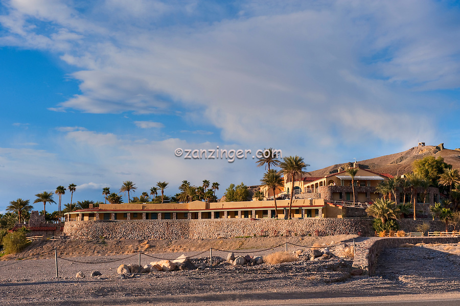 Furnace Creek Inn, Death Valley, National Park, panorama