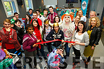 Cutting the tape to open  the KDYS Re-Vamp of the youth cafe on Friday was Ciara Sookarry