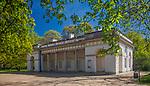 Budynek Starej Kordegardy, Łazienki Królewskie, Warszawa, Polska<br /> Old Town Building, Royal Baths Park in Warsaw, Poland