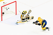 June 5th 2017, Nashiville, TN, USA;  Nashville Predators right wing Viktor Arvidsson (38) scores break away goal past Pittsburgh Penguins goalie Matt Murray (30) during game 4 of the 2017 NHL Stanley Cup Finals between the Pittsburgh Penguins and Nashville Predators
