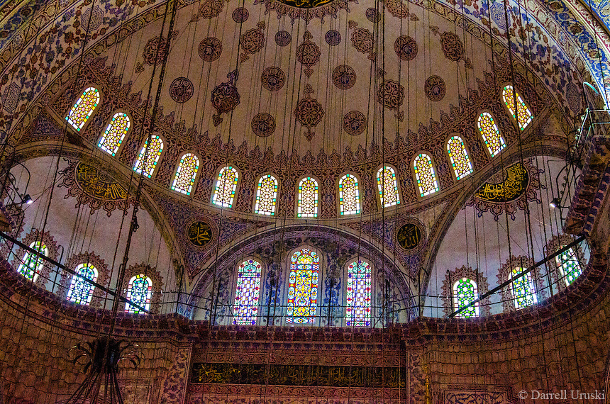 Sultan Ahmed Mosque, The Blue Mosque in Istanbul Turkey
