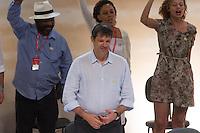 SAO PAULO, SP, 15.11.2013 - DÉCIMO TERCEIRO CONGRESSO NACIONAL DO PCDOB - O Prefeito de São Paulo Fernando Haddad durante o 13º Congresso Nacional do PCdoB - Avançar nas Mudanças, que ocorre no Auditório Elis Regina, região norte de São Paulo. (Foto: Marcelo Brammer / Brazil Photo Press).