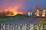 A raging gorse fire on Friday last at Ardcost, Portmagee saw four units of the Fire Brigade, two from Killorglin, one from Cahersiveen & one from Sneem tackle the blaze, which came within 30 yards of one residence and narrowly missed two stretches of forestry.