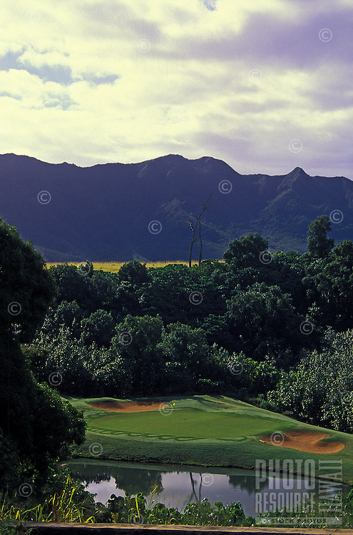 Golf Course at Grove Farm, Kauai
