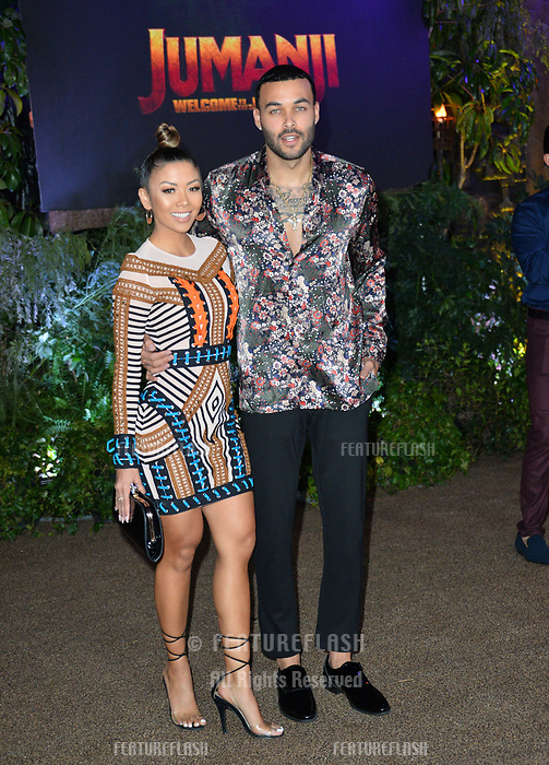 "Don Benjamin & Liane Valenzuela at the Los Angeles premiere of ""Jumanji: Welcome To the Jungle"" at the TCL Chinese Theatre, Hollywood, USA 11 Dec. 2017<br /> Picture: Paul Smith/Featureflash/SilverHub 0208 004 5359 sales@silverhubmedia.com"