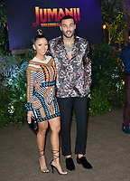 Don Benjamin &amp; Liane Valenzuela at the Los Angeles premiere of &quot;Jumanji: Welcome To the Jungle&quot; at the TCL Chinese Theatre, Hollywood, USA 11 Dec. 2017<br /> Picture: Paul Smith/Featureflash/SilverHub 0208 004 5359 sales@silverhubmedia.com