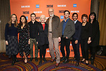 "Bess Wohl, Ashley Park, Ben McKenzie, Jane Alexander, James Cromwell, Michael Urie, Maulik Pancholy, Priscilla Lopez and Leigh Silverman during the Second Stage Theater presents ""Grand Horizons"" at the Marquis Hotel on December 11, 2019 in New York City."
