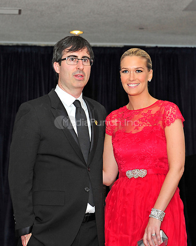 John Oliver and Kate Oliver arrive for the 2013 White House Correspondents Association Annual Dinner at the Washington Hilton Hotel on Saturday, April 27, 2013.<br /> Credit: Ron Sachs / CNP<br /> (RESTRICTION: NO New York or New Jersey Newspapers or newspapers within a 75 mile radius of New York City) /MediaPunch
