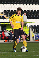 Tyler Fulton in the St Mirren v Falkirk Clydesdale Bank Scottish Premier League Under 20 match played at St Mirren Park, Paisley on 30.4.13. ..