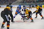 15.04.2018, EnergieVerbund Arena, Dresden, GER, Euro Hockey Challenge, Deutschland vs. Slowakei, im Bild<br /> <br /> <br /> Tim Bender (#8, Deutschland), Matej Paulovic (#67, Slowakei), <br /> <br /> Foto &copy; nordphoto / Dostmann
