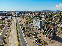 Hampton Inn by Hilton Hermosillo .Paisaje urbano, paisaje de la ciudad de Hermosillo, Sonora, Mexico.<br /> Urban landscape, landscape of the city of Hermosillo, Sonora, Mexico.<br /> (Photo: Luis Gutierrez /NortePhoto)