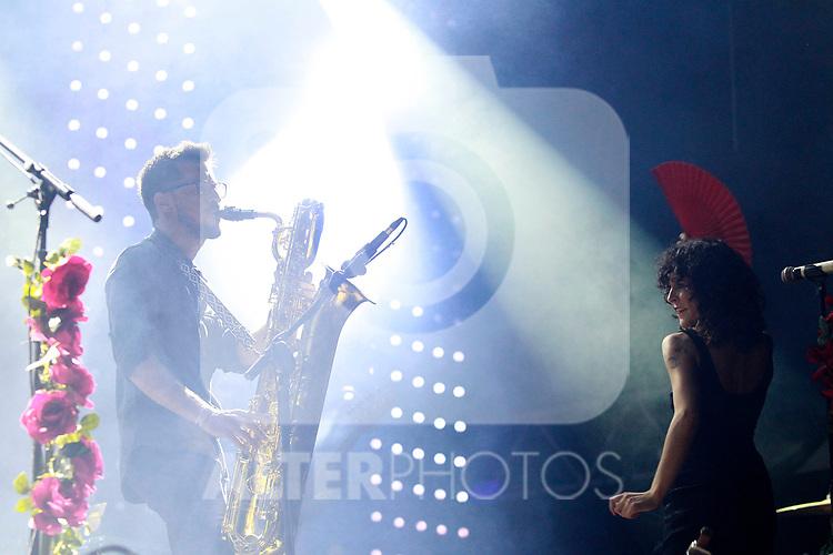 Palencia Sonora Festival. Fuel Fandango and David Carrasco. June 10, 2017. (ALTERPHOTOS/Acero)