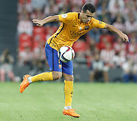 FC Barcelona's Pedro Rodriguez during Supercup of Spain 1st match.August 14,2015. (ALTERPHOTOS/Acero)